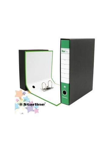 Registratore STARBOX f.to protocollo dorso 5cm verde STARLINE/sfuso
