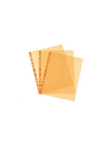 25 Buste forate Pstel 22x30 arancio liscio Favorit