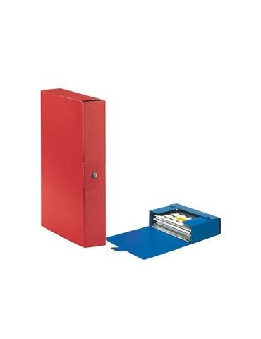 Scatola progetto C26 25x35cm dorso 6 rosso ESSELTE