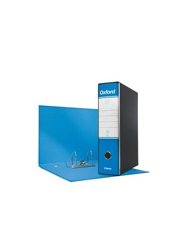 Registratore OXFORD G83 azzurro dorso 8cm f.to commerciale ESSELTE